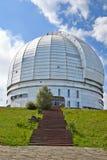 O azimute o maior do telescópio óptico de Europa. imagens de stock royalty free