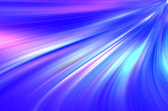 O azul abstrato curva o fundo. Fotos de Stock
