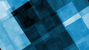 O azul abstrato de HD cuba animztion do fundo o 2D movimentos vídeos de arquivo