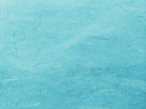 O azul abstrato recicla o fundo de papel da textura da amoreira Imagens de Stock Royalty Free