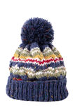 O azul bobble o chapéu Foto de Stock Royalty Free