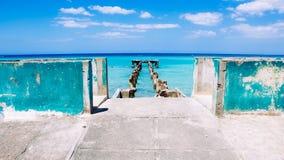 O azul de Jamaica entra 2 foto de stock