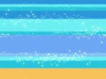 O azul do mar acena o fundo com textura de matéria têxtil de um pano Foto de Stock Royalty Free