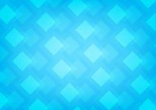 O azul esquadra o fundo Fotografia de Stock
