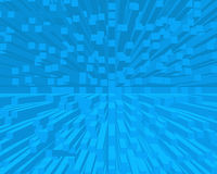 O azul obstrui o fundo Imagem de Stock Royalty Free