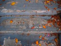O azul pisa fundo Fotografia de Stock