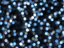 O azul pontilha o fundo Imagem de Stock