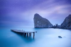 O azul relaxa a paisagem da imagem de alta resolução fotos de stock