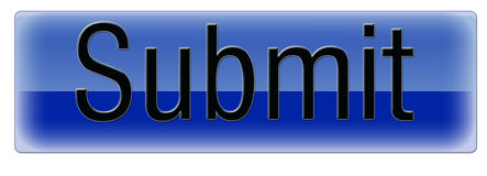 O azul submete-se Imagens de Stock Royalty Free