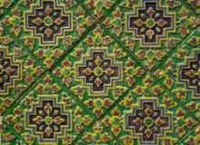 O azulejo decora o stupa Imagens de Stock