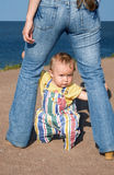 O babe-5 amedrontado Fotos de Stock Royalty Free