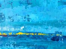 O backgrou abstrato azul e amarelo áspero e do grunge do papel de parede fotos de stock royalty free