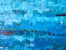 O backgroun abstrato azul e branco áspero e do grunge do papel de parede fotografia de stock royalty free