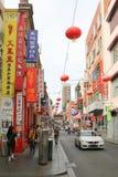 O bairro chinês, que data dos 1850s, é o pagamento chinês contínuo o mais longo no mundo ocidental Foto de Stock Royalty Free