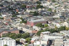O bairro francês fotos de stock royalty free