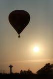 O balão de ar quente descola Fotografia de Stock