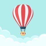 O balão de ar quente photgrphed no Bealton, mostra de ar do circo do vôo do VA Foto de Stock Royalty Free