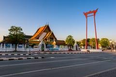 O balanço gigante, marco de Banguecoque, Banguecoque, Tailândia Fotos de Stock Royalty Free