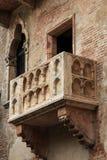 O balcão de Juliet famoso - Verona em Itália fotografia de stock