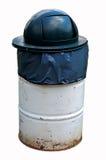 O balde do lixo isolou-se Imagem de Stock Royalty Free