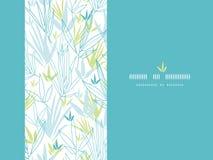O bambu azul ramifica fundo vertical da decoração Fotografia de Stock