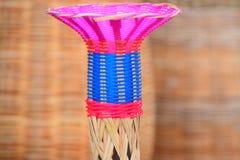 O bambu fez a fotografia do exemplo Foto de Stock