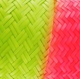 O bambu textures a cor fresca. imagem de stock
