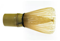 O bambu whisk para o chá verde Fotos de Stock