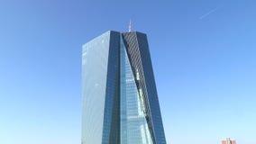 O Banco Central Europeu sedia Francoforte, Alemanha filme