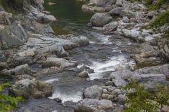 O banco da pedra da montanha Imagem de Stock Royalty Free
