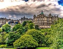 O banco de Escócia, Edimburgo fotografia de stock