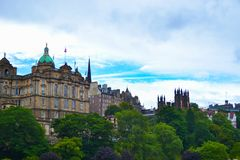 O banco de Escócia sedia o Scottish de Lloyds Banking Group fotografia de stock