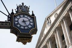 O Banco do Inglaterra em Londres Foto de Stock Royalty Free
