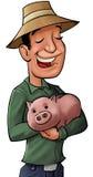 O banco do porco Fotografia de Stock
