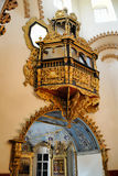O banco do ` s do czar - interior da igreja da intercessão em Fili Fotos de Stock