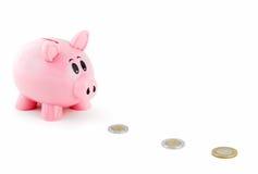 O banco Piggy segue a fuga mexicana do dinheiro Foto de Stock Royalty Free