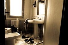 O banheiro Imagens de Stock