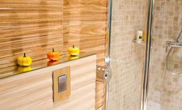 O banho, interior, decora Fotografia de Stock Royalty Free