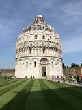 O Baptistery de Pisa de St John Fotos de Stock Royalty Free