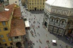 O Baptistry, Florença, Italy fotos de stock royalty free