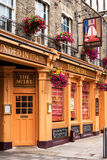 O bar da mitra Cambridge, Inglaterra Foto de Stock Royalty Free
