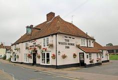 O bar da pensão do cavalo branco Fotografia de Stock Royalty Free