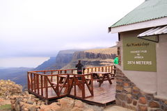 O bar o mais alto em África Imagem de Stock