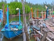 O barco foto de stock