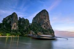 O barco da cauda Foto de Stock