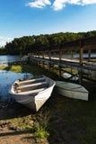 O barco da criança Fotografia de Stock Royalty Free