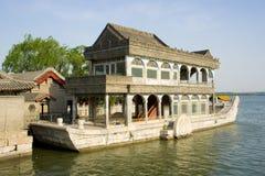 O barco de mármore fotos de stock royalty free