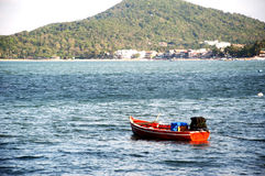 O barco de pesca Foto de Stock Royalty Free