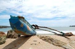 O barco do Sri Lanka tradicional imagem de stock