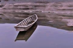 O barco no rio de Meakong imagem de stock royalty free